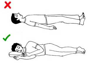 Sleeping position 2