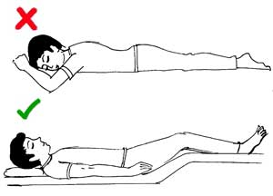 Sleeping position 3
